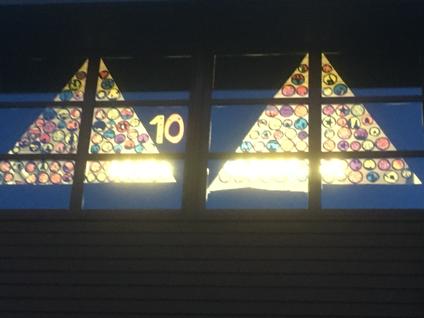 Adventsfenster der Primarschule Nussbaumen