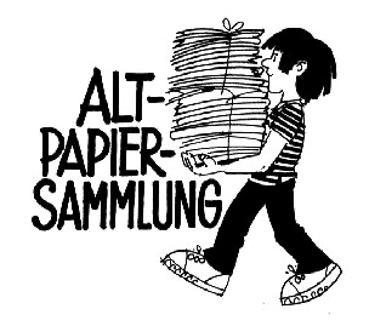 Papiersammlung für einmal anders