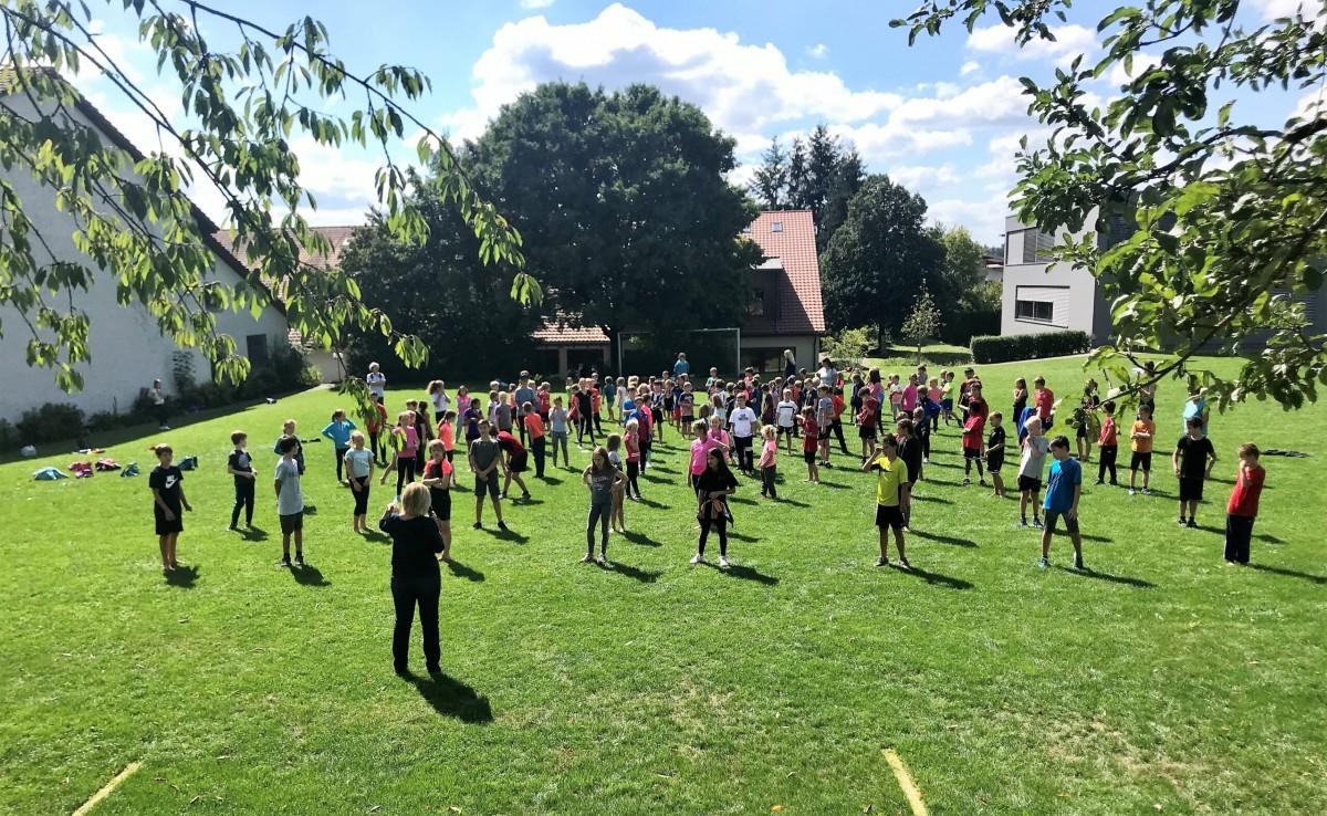 gemeinsamer Sporttag mit Hüttwilen