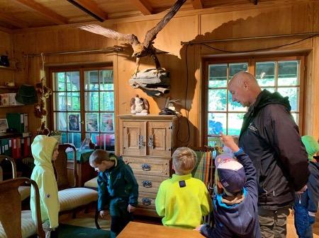 Besuch der Greifvogelstation in Berg am Irchel